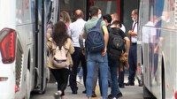 Otogarda dönüş yoğunluğu başladı: Biletler satıldı arabalar doldu