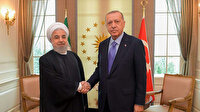 Cumhurbaşkanı Erdoğan İran Cumhurbaşkanı Ruhani'yle görüştü