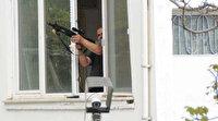 Kayseri'de panik anları: Pencereden tüfekle rastgele ateş açtı bir kişiyi yaraladı