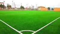 Sentetik yüzeyli çim futbol sahası yaptırılacak