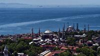 İstanbul'un tarihi ve turistik güzelliklerine kuş bakışı