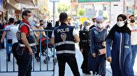 Gaziantep'te yoğunluk caddeleri bariyerle kapattırdı