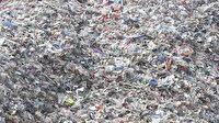 Alibeyköy Barajı çevresinde plastik çöp dağları yükseliyor