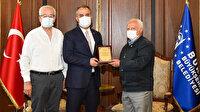 Bursa Engelliler Federasyonu'ndan Başkan Aktaş'a doğum günü sürprizi