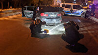 Polisi 90 kilometre peşine taktı ortalığı savaş alanına çevirdi: İki yaralı var