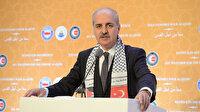 Numan Kurtulmuş: İsrail'i fiilen durdurmak dışında yol kalmadı