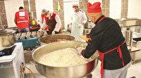 Okullardan  13 bin aileye sıcak yemek