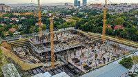 Süleymaniye Camisi'nden ilham alınan Barbaros Hayrettin Paşa Camisi'nin yüzde 75'i tamamlandı