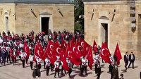 81 ilden gencin katılımıyla Anıtkabir'de 19 Mayıs töreni