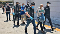 'Onur Operasyonu' kapsamında gözaltına alınan 6 zanlı Mersin'de tutuklandı