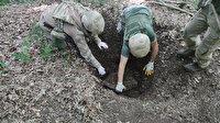 Amanos Dağlarında PKK'nın yer altı deposu bulundu: Çok sayıda silah ve mühimmat ele geçirildi