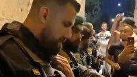 Ateşkes kararı sonrası Filistinliler tekbirler eşliğinde Mescid-i Aksa'ya girdi