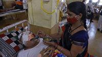Hindistan'da koronavirüs hastalarında siyah ve beyaz mantardan sonra bir vaka daha