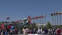 Gaziantep'te işgalci İsrail'in zulmune sessiz kalan ülkelere karşı sessiz protesto düzenlendi