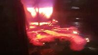 Bursa'da döküm fabrikasındaki kazan patladı: Çıkan yangın 1 saatte kontrol atına alınabildi