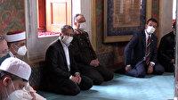 İstanbul Valisi Yerlikaya ve İBB Başkanı İmamoğlu Fatih Sultan Mehmet Han'ın türbesini ziyaret etti