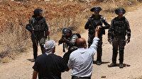 Batı Şeria'da işgalci İsrail güçlerinin açtığı ateş sonucu 3 Filistinli yaralandı