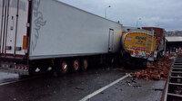 Anadolu Otoyolu'nda zincirleme kaza: 20 araç birbirine girdi, çok sayıda yaralı var