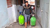 Manisa'da sel felaketinin yaşandığı mahallede sağanak korkuttu