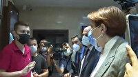 Esnaftan olumsuz yanıt alamayan Meral Akşener'in karşısına CHP gençlik kollarından genci esnaf gibi çıkarttılar