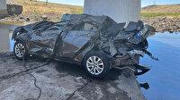 Şanlıurfa'da feci kaza: Köprüden düşen otomobildeki 5 kişi hayatını kaybetti