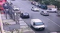 Maltepe'de hırsız çaldığı araçla kaza yapıp kaçtı
