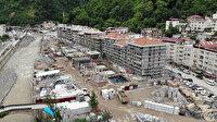 Dereli'de afetzedeler için yapılan 142 konutlu inşaatta sona yaklaşıldı: Selin yıldönümünde teslim edilecek