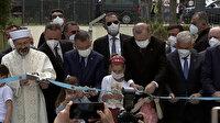 Zonguldak Uzun Mehmet Camii Cumhurbaşkanı Erdoğan'ın katılımıyla ibadete açıldı