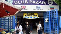 Ulus Pazarı 189 gün sonra açıldı: Bulgar ve Yunan müşteriler akın etti