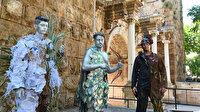 CHP'li Muratpaşa Belediyesinden canlı heykellerle çevreye duyarlılık çağrısı