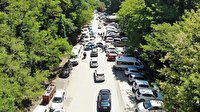 İlk kısıtlamasız cumartesi gününde İstanbullular Belgrad Ormanı'na akın etti