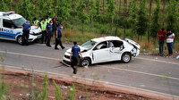 Kuzey Marmara Otoyolu'nda feci kaza: Bir ölü iki yaralı var