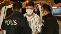 Polis şüphe üzerine durdurdu: Üzerinden polis rozeti ve ruhsatsız tabanca çıktı