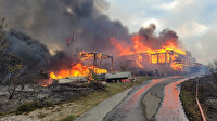 Norveç'te dev arazi yangını: 500 kişi tahliye edildi