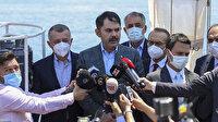 Bakan Kurum: Marmara'yı kaderine terk etmeyeceğiz