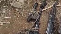 Pençe-Yıldırım Operasyonu'nda terör örgütü PKK'ya ait çok sayıda silah ve mühimmat ele geçirildi