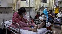 Hindistan'da vakalar endişe verici: Kovid-19 salgınında son 24 saatte 2 bin 427 kişi öldü