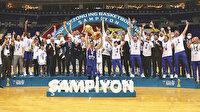 Anadolu Efes Türkiye şampiyonu