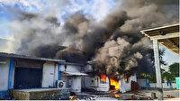 Hindistan'da kimya tesisinde yangın