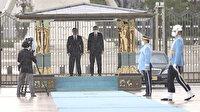 Kırgızistan Cumhurbaşkanı Sadır Caparov Ankara'da: Cumhurbaşkanı Erdoğan resmi törenle karşıladı