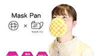 Japonya'da yenilebilir maske ilgi çekiyor