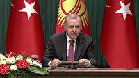 Cumhurbaşkanı Erdoğan: FETÖ, Türkiye ve Kırgızistan için milli güvenlik tehdidi oluşturuyor