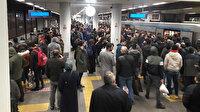 İstanbul'daki iki metro hattında seferler teknik arıza nedeniyle durdu
