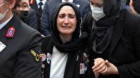 Şehit eşinden yürek yakan sözler: Kızın Elif sana doyamadı