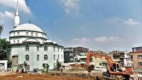Helvalıpınar Camii'ne 'Yıldırım' dokunuş