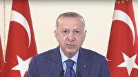 Cumhurbaşkanı Erdoğan Yukarı Afrin Barajı'nın açılışına canlı bağlantı ile katıldı