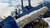 İzmit Körfezi'nde müsilaj temizleme çalışmaları görüntülendi