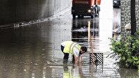 Ankara yine sele teslim: Sağanak yağış çileye dönüştü birçok yeri su bastı