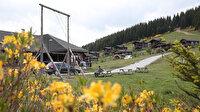Alpler'i aratmıyor: 'Oksijen deposu' Kümbet Yaylası ziyaretçilerini ağırlıyor