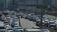 Kısıtlamasız 2'nci cumartesi gününde İstanbul'da trafik yoğunluğu yaşandı